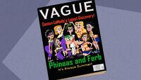 Phineas e Ferb na revista
