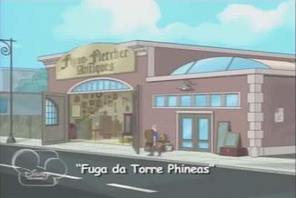 Fuga da Torre Phineas - Cartão de Título