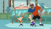 Phineas Treinando Boxe
