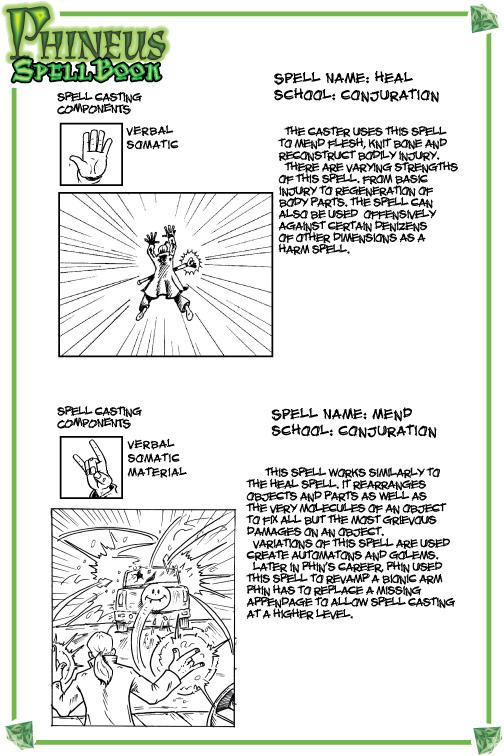 Spellbook 2-heal-mend