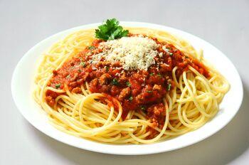 Bolognese-Spaghetti