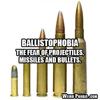 Ballistophobia