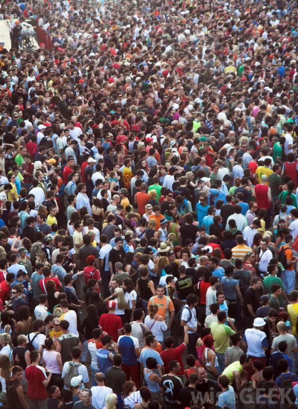 Afraid of crowds anxiety