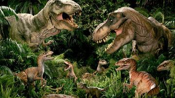 Dinosaur in Jurassic Park