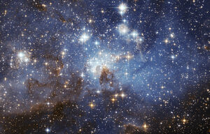 Stars in the outer space