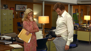 Erection in Anchorman