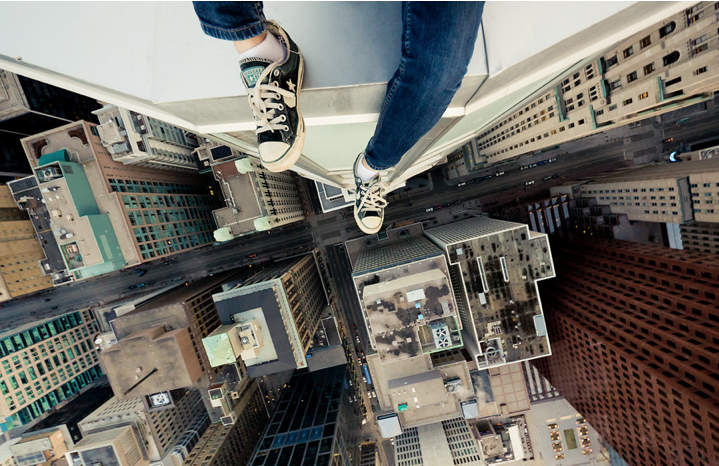 acrophobia fear and heights Acrophobia is defined as an unexplainable, intensely fear of heights, it can cause a person to fear various things associated to being far from the ground when being exposed to heights, most people will experience a natural fear, and feeling of being uncomfortable.