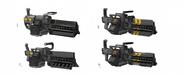 New Jericho Machine Gun Designs