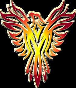 Shiraha phoenix symbol