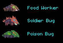 Phoenotopia Bugs