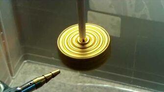 Neodymium Magnets Reaching Terminal Velocity