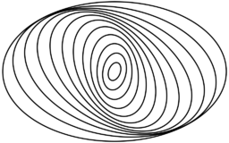 Spiral galaxy arms diagram