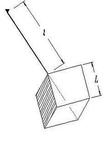Cube pendulum