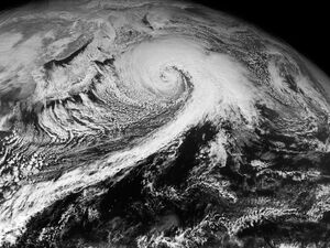 Northwest Pacific extratropical cyclone 2013-01-15 0300Z