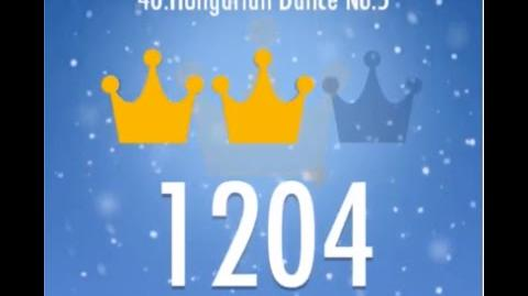 Piano Tiles 2 Hungarian Dance No.5 (Johannes Brahms) High Score 1204 Piano Tiles 2 Song 40