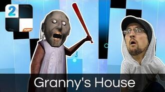 Granny's House by FGTeeV in Piano Tiles 2!