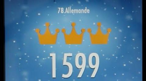 Piano Tiles 2 Allemande (Handel) High Score 1599 Piano Tiles 2 Song 78