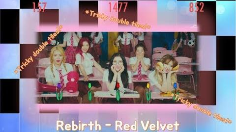 Tricky (&slow) Double Tiles! Rebirth - Red Velvet in Piano Tiles 2!