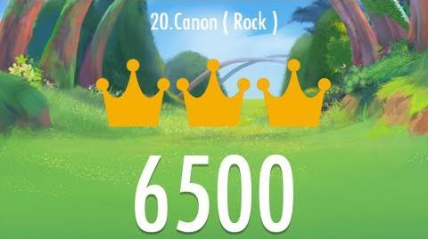 Piano Tiles 2 - Canon (Rock) 6500 score, LEGENDARY 2nd World Record!!! -Read description-