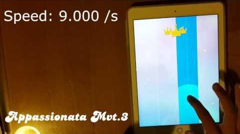 Fast ^ ^ MOST RESTLESS SONG in Piano Tiles 2 - Appassionata Mvt