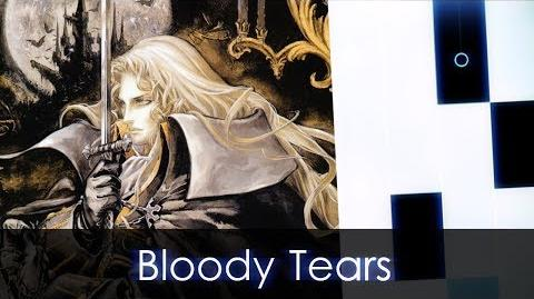 Bloody Tears (Castlevania) + Anthem of Mysterious Forest by me - 2 CUSTOM SONGS IN PIANO TILES 2