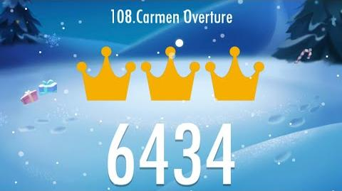 Piano Tiles 2 - Carmen Overture 6434 score, LEGENDARY World Record!!!