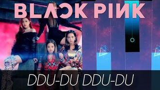 DDU-DU DDU-DU BY BLACKPINK IN PIANO TILES 2! NEW AWESOME MOD + CUSTOM BACKGROUND