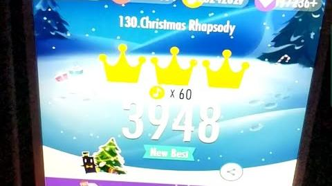 CHRISTMAS RHAPSODY 3948 SCORE, LEGENDARY WORLD RECORD IN PIANO TILES 2!!!!!!