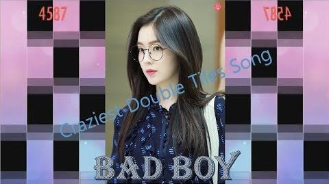 CRAZIEST DOUBLE TILES SONG (LEGENDARY) EVER IN PIANO TILES 2! - Bad Boy - Red Velvet -HappyIreneDay