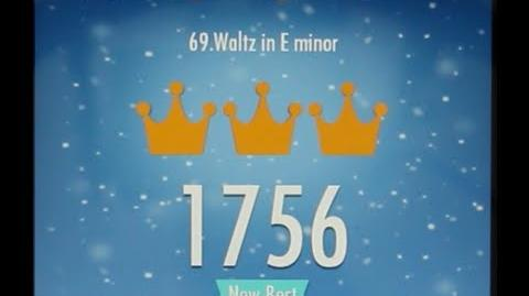 Piano Tiles 2 Waltz in E minor (Chopin) High Score 1756 Piano Tiles 2 Song 69