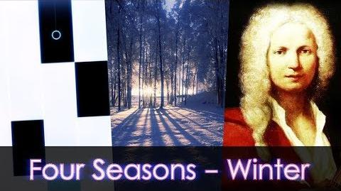 Four Seasons - Winter - Piano Tiles 2 Custom Song