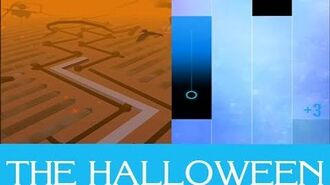 DANCING LINE IN PIANO TILES 2??! - The Halloween + Face Reveal!!