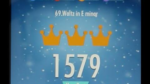 Piano Tiles 2 Waltz in E minor (Chopin) High Score 1579 Piano Tiles 2 Song 69