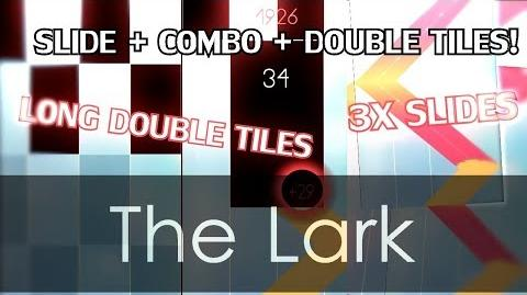 ABSOLUTELY HARDEST SLIDES IN CUSTOM SONG - The Lark - Piano Tiles 2 Mod