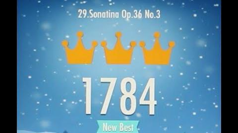 Piano Tiles 2 Sonatina Op 36 No 3 Kuhlau High Score 1784 Piano Tiles 2 Song 29