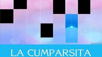 LA CUMPARSITA IN PIANO TILES 2!!