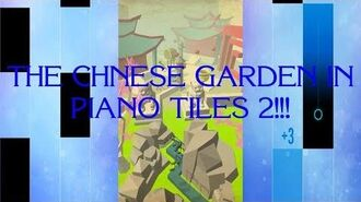 Dancing Line x Piano Tiles 2 - THE CHINESE GARDEN!!!