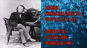 Piano Tiles 2 Johannes Brahms - Hungarian Dance No