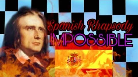 MOST IMPOSSIBLE SONG IN PIANO TILES 2 UMOD - Spanish Rhapsody by Franz Liszt - 16159 (1 crown)