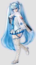 Yuki Miku doll