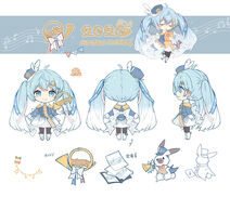 Snow Miku 2020 design