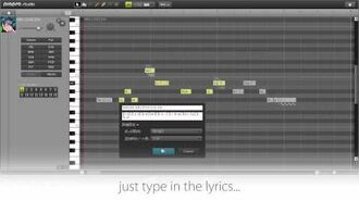 Piapro Studio Introducing The Next Generation Vocal Editor