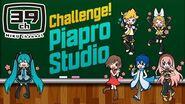 【HATSUNE MIKU】 Challenge! Piapro Studio Course ミク先生と学ぼう!Piapro Studio講座 【初音ミク】