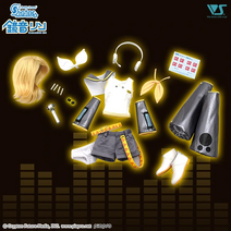 Kagamine Rin doll outfit
