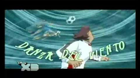 Inazuma eleven danza del viento