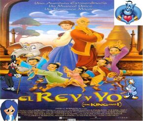 Brisa, Goofy, Donald and Genie's adventures of The King and I