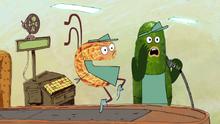 S1e1a pickle beat-boxing