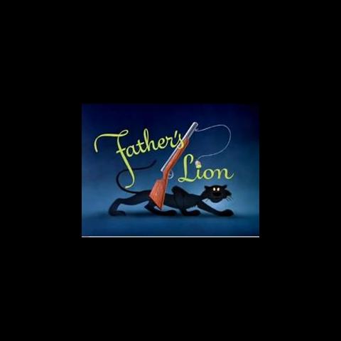 Le <i>title card</i> de <i>Father's Lion</i>.