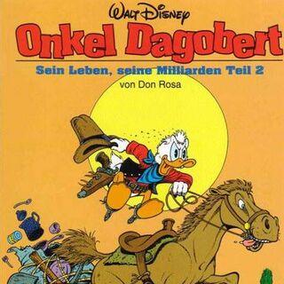Couverture du magazine <i>Onkel Dagobert von Don Rosa</i> n°2, réalisée par <a href=