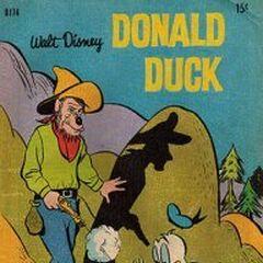 Couverture du magazine australien <i>Donald Duck (D series)</i>  illustrant l'histoire.